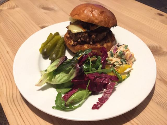 Nigel Slater's burger