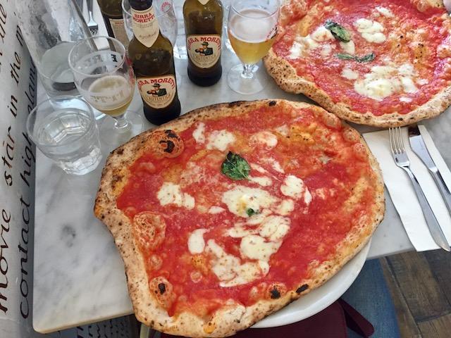 Dining In London Rasa And Lantica Pizzeria Da Michele