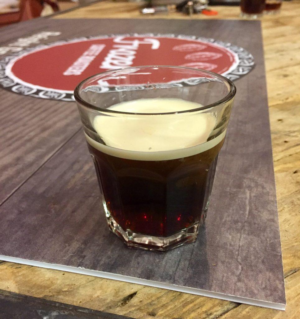 Frazer's coffee Nitro coffee