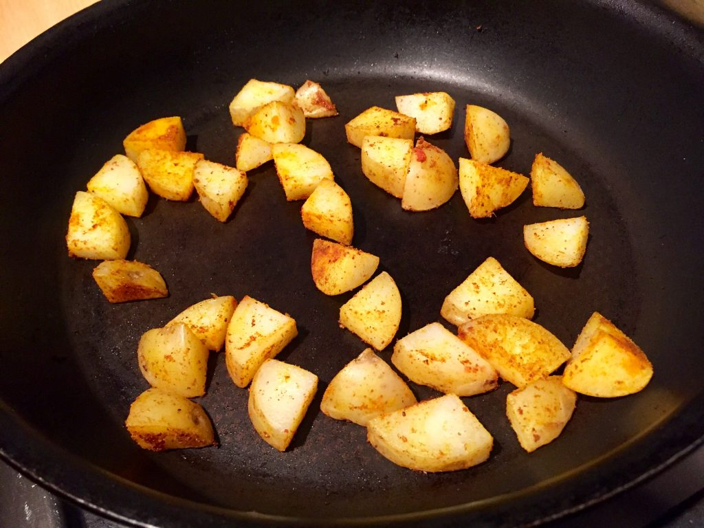 Spiced potatoes