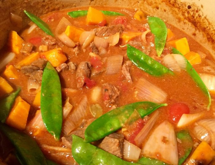 Beef, ginger and coconut curryJPG