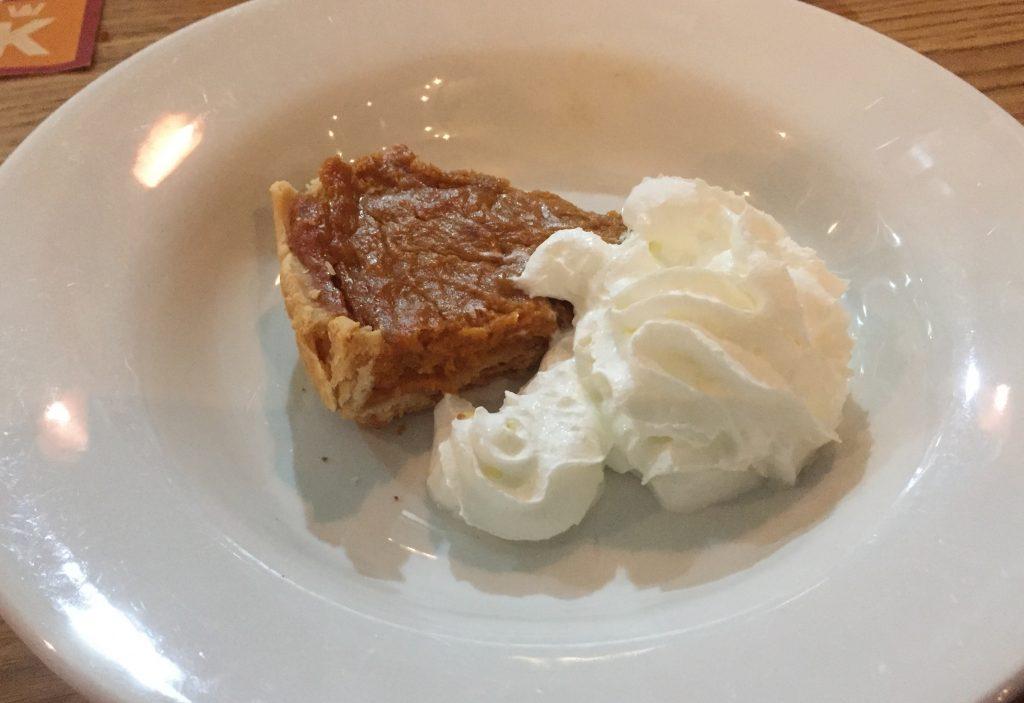 Sweet potato pie Wing Kings