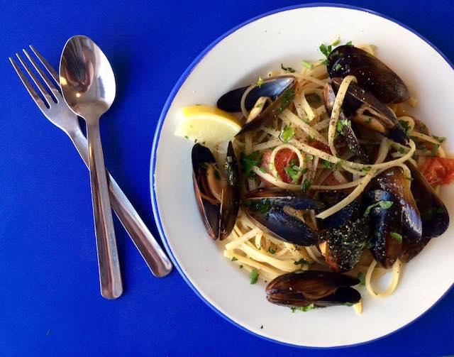 inguine with mussels   Butta La Pasta